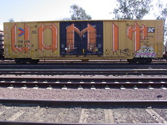 vomit (VOMUT AQK) Tags: sf train graffiti zee nv aq vomit 3color ttx