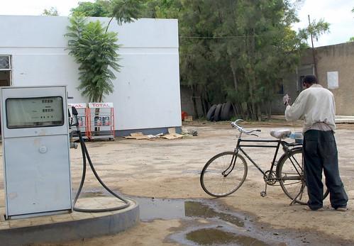Gasolinera en Ziway (Etiopía)