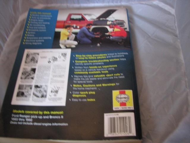 auto ford car truck fix four book automobile ranger mechanical parts vacuum engine mirrors 4wd 11 help ii repair manuel vehicle motor extension manual gasoline emissions electrical camper mechanic tow instruction transmission fuel complete rebuild 2wd teardown haynes bronco2 repairmanual twowheeldrive