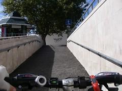 Rampa de acesso ao lado Norte da Estação do Estoril
