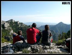 ESTELES DEL SUD (NUR FS) Tags: mountain comida vistas montaa senderismo montes cruzadas elsports estelesdelsud fontferreraelcaro