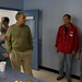 Dave Syverson tours the Red Cross Emergency Overnight Shelter Clean Up 10.25.2008