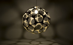 Borealis (LAZERIAN DESIGN) Tags: lighting sculpture art manchester design craft chandelier eco cnc flatpack plywood components borealis madeinengland modules wingnuts cncrouter designerfurniture birchplywood modernlighting ecoproducts liamhopkins designerlighting hotellighting lazerianrichardsweeney installationlighting