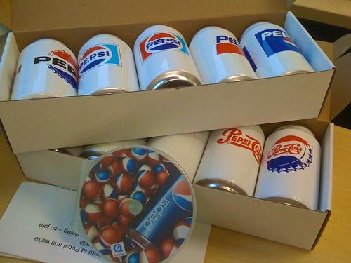 New Pepsi Branding Outreach