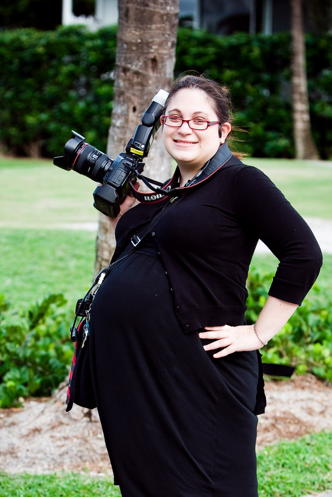 Shooting a wedding at 9 months pregnant