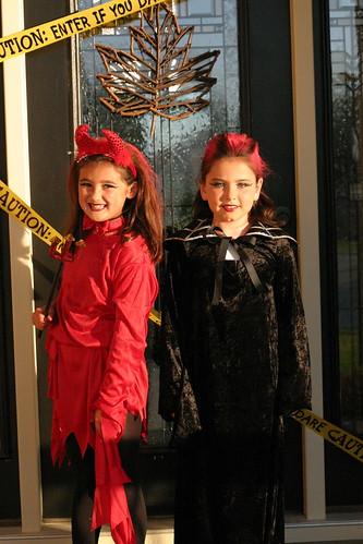 Cody & Isabella on Halloween