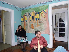 pollie+rob. (stephiblu) Tags: november autumn party guests fun nj montclair 2008 autumnball autumnball2008 tichenortichenors