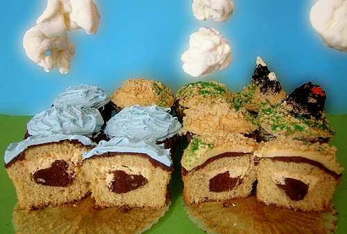 Earth Cupcakes