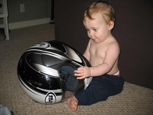 Daddy's Helmet