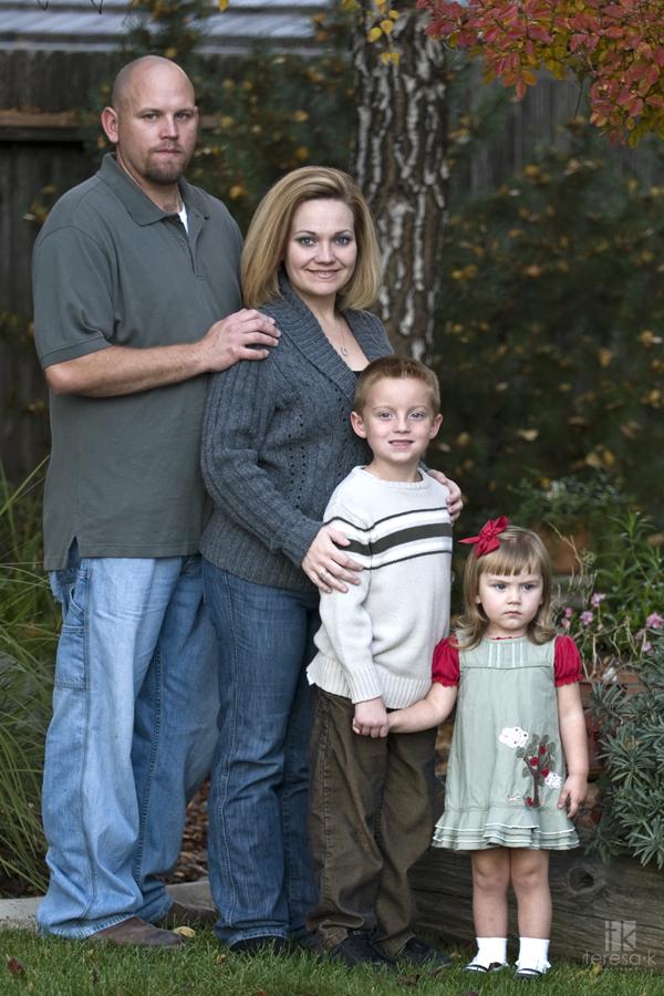 Hansher family portraits