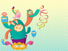 Wallpaper toy (Diego Leitzke) Tags: character vector toyart
