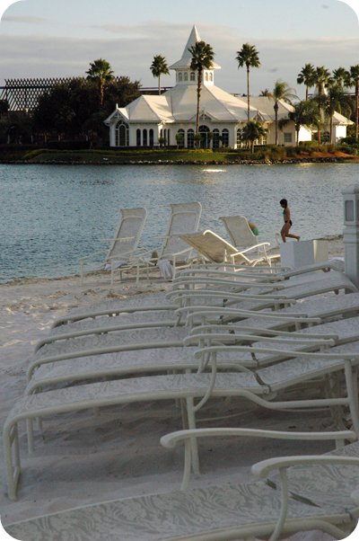 Beachfront at the Grand Floridian