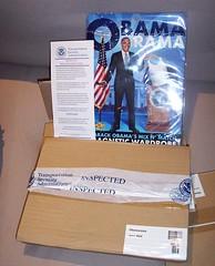 Obamarama inspected by TSA (a-birdie) Tags: airport security tsa inspected upg unemployedphilosophersguild obamarama magneticwardrobe transportionsecurityadministration