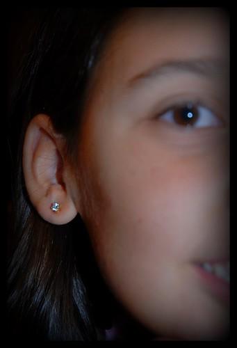 Pretty pierced earrings