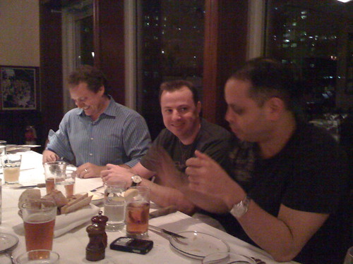 Dinner with Mike Koenigs, Gary Ambrose and Mike Filsaime
