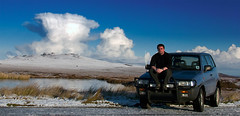 Me on The Moine (Mr Miner Willy) Tags: sky mountain snow ford water tongue clouds hope scotland ben hill glen highland sutherland loyal maverick farr talmine moine melness minerwilly