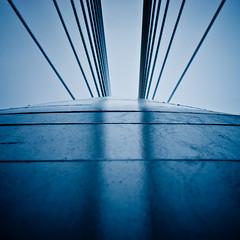 up (beeldmark) Tags: architecture utrecht brug modernarchitecture architectuur prinsclausbridge prinsclausbrug benvanberkel modernearchitectuur smcpfa50mmf14 beeldmark