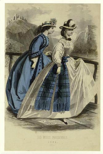 003- Les Modes parisiennes-1864