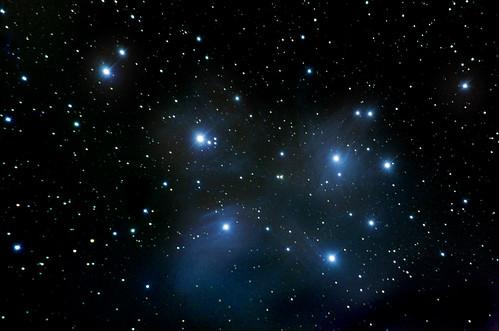 M45-The Pleiades on 12/2/08