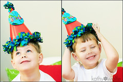 5 today (kadiwow) Tags: birthday hat 5 five happybirthday fiveyearsold