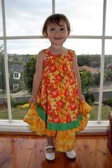 074 (~AgataJustyna~) Tags: girls yellow clothing felix handmade farbenmix