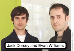 jack dorsey and evan williams