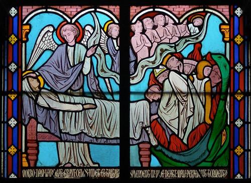 004- Vitral nº 4 claustro de Notre Dame de Paris