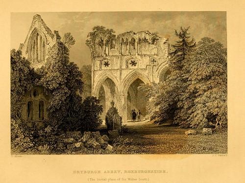 020- Abadia de Dryburgh-Roxburghshire-donde esta enterrado Sir Walter Scott