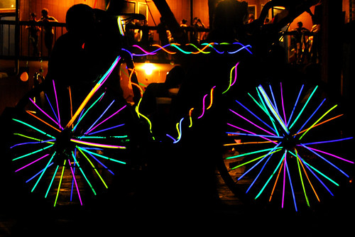 Glowstick Bike