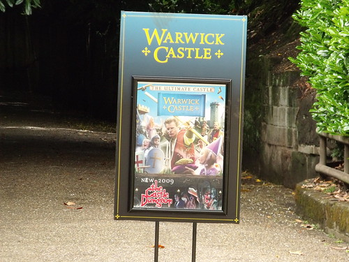 Warwick Castle - advert - The Ultimate Castle - The Castle Dungeon