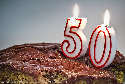 Celebrate 50 Years With Cake Candles And A Colonoscopy