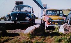 film vw analog 35mm bug volkswagen beetle mini mascot... (Photo: Peter Bromley on Flickr)