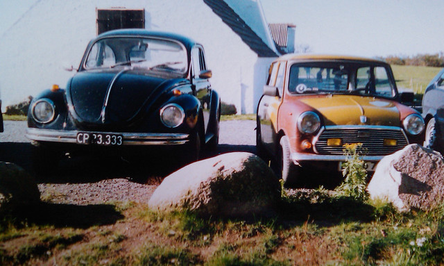 film vw analog 35mm bug volkswagen beetle mini mascot boble morris 1302 1972 leyland käfer brittish bromley 1302s 1302ls