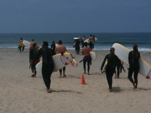 Surf school, San Diego