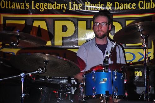 Tim Gilbertson at Zaphod Beeblebrox