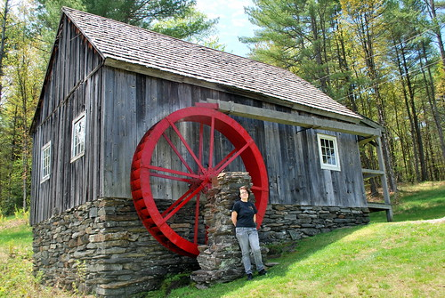 Jamie at the Grist Mill
