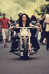 People (GZZT) Tags: street berlin bike germany de women strasse harley motorbike motorcycle brille frau mb motorrad motorcykel reifen  030 harleydays salzufer moottoripyr bikerin guessedberlin schwarzehaare  gwbhenry berlinharleydays gzzt mygearandme martinbriese xemt
