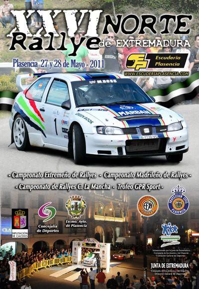 Rallye Norte Extremadura 2011