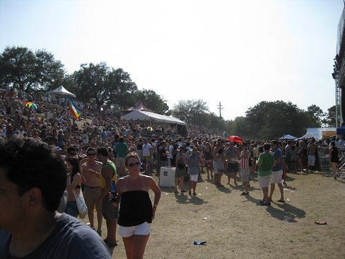 Crowd at Main Stage