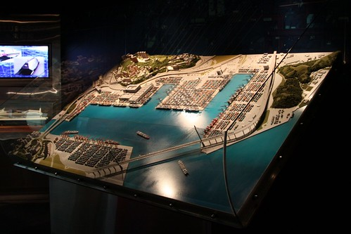 Model of the Kwai Tsing Container Terminals