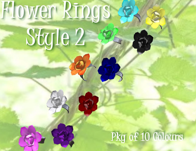 Flower Rings Style 2