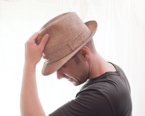 Vintage Sandy Shores Biltmore Fedora Hat (5)