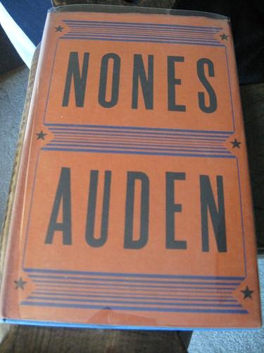 Auden British Cover, Nones