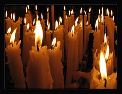 Votive Candles (Lawrence OP) Tags: france love hope shrine candles faith mary prayer votive lourdes ourlady