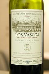 2006 Los Vascos Special Selection Cabernet Sauvignon