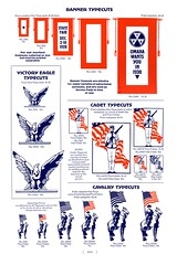 Omaha Wants You (Depression Press) Tags: politics democrat republican typecuts cuts illustration vintage silhouette president drawing print letterpress red white blue usa america eagle barnhart spindler typography specimen ballot cadet cavalry omaha election depressionpress patriotism united states us americana 1930s typecut ornament printing seal logo badge stars graphic design 2008election