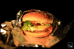 the perfect upgraded Charal Cheeseburger