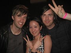 Dan, Me & Mitchell (kikiboon) Tags: cutcopy studiob