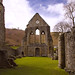 Valle Crucis Abbey in Colour