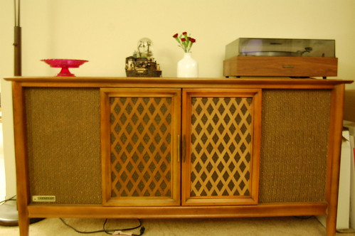1950's Stereo Cabinet. - a photo on Flickriver